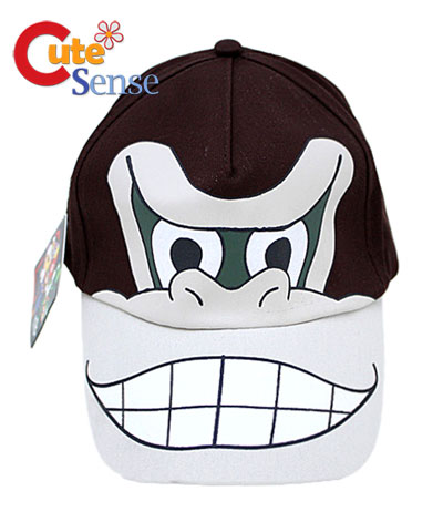 Kids to Teen Super Mario Donkey Kong Hat  Adjust Baseball Cap