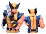 Marvel Wolverine Masked Bust Figure Coin Bank