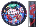 Marvel Spiderman Auto Car Steering Wheel Cover -Color Logo