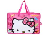 "Sanrio Hello Kitty Reusable Tote Pink Large Face Duffle Bag -21"" XL"