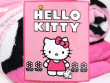 Sanrio Hello Kitty Microfiber Plush Throw Blanket :Pink Flower