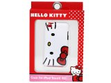 Sanrio Hello Kitty Face Silicon I pod  Touch 4 Case