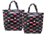 Hello Kitty Party Gift Bag Set 2pc Balck Red Bows 14x15