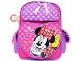 Disney Minnie Mouse School Backpack Large  Bag - Lucky Bag