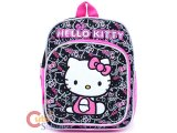Sanrio Hello Kitty Toddler School Backpack Bag : Face All Over