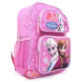 """Frozen 14/"""" Medium  School Backpack Lunch Bag 2pc Set Elsa Anna Olaf Pink Floral"""