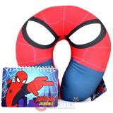 Marvel Spiderman  Neck Rest Pillow Travel Cushion with Mini Note