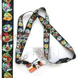Mickey Mouse Friends  Lanyard KeyChain ID Pocket