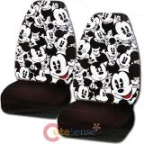 Disney Mickey Mouse Front  Car Seat Cover Set- Expressions