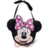 Disney Minni Mouse Face Cut Hand Bag  Mini Purse with Pink Bow