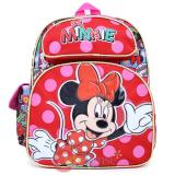"Disney Minnie Mouse  Small School Backpack 12"" All Over Book Bag - Comic Book"