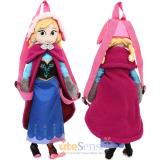 Disney Frozen Anna Plush Doll Backpack  Costume Bag