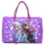 "Disney Frozen Elsa Anna Duffle Bag  Travel  Gym Large Overnight Bag 20"" XL"