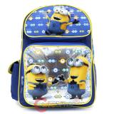 "Despicable Me Minions Large School Backpack 16"" Book Bag - Eyes"
