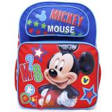 "Disney Mickey Mouse Large School Backpack 16"" Book Bag -M28"
