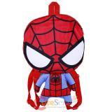 Marvel Spiderman Flat Plush Doll Backpack -16in