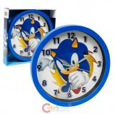 Sonic The Hedgehog Wall Clock  -9.5in