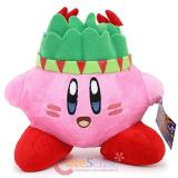 "Nintendo Kirby Adventure Warrior Indian  6"" Plush Doll"